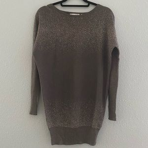 Nanette Lenore | Brown Cashmere Blend Sweater